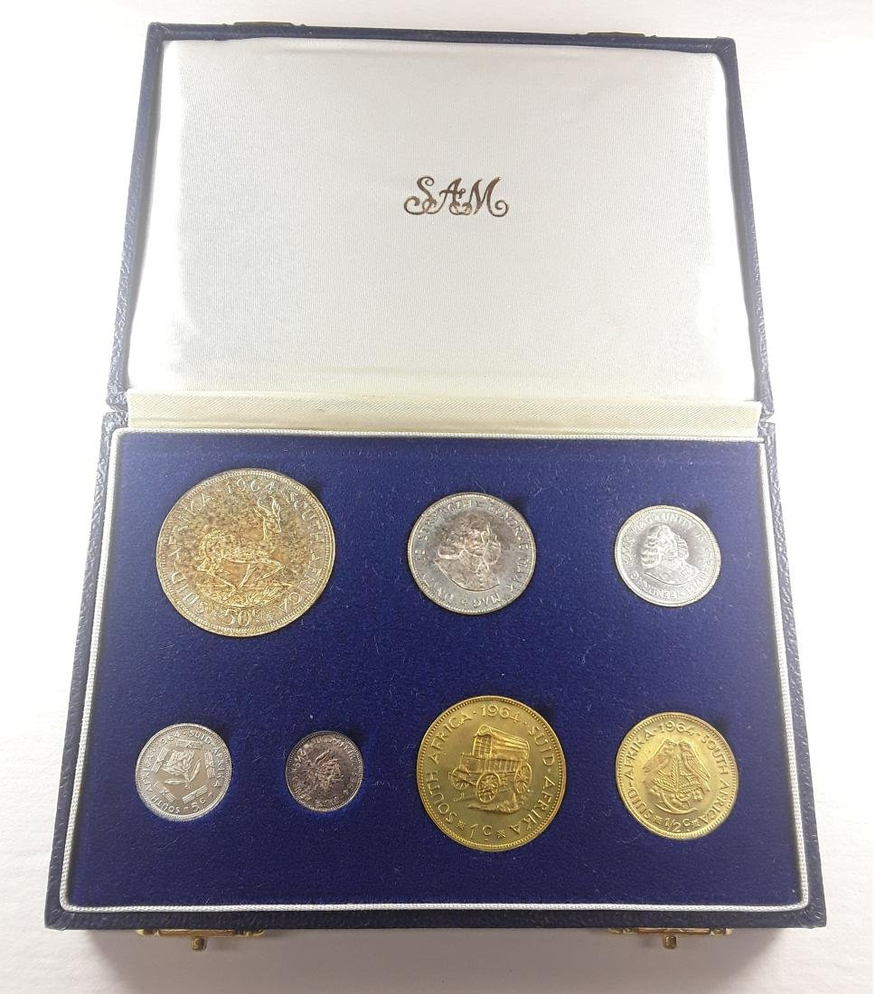 South Africa - 1964 Coin Set - 2
