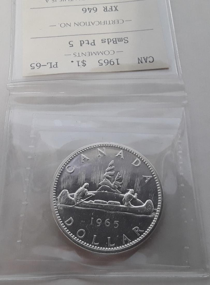 Canadian Prooflike Dollar Collection - 3