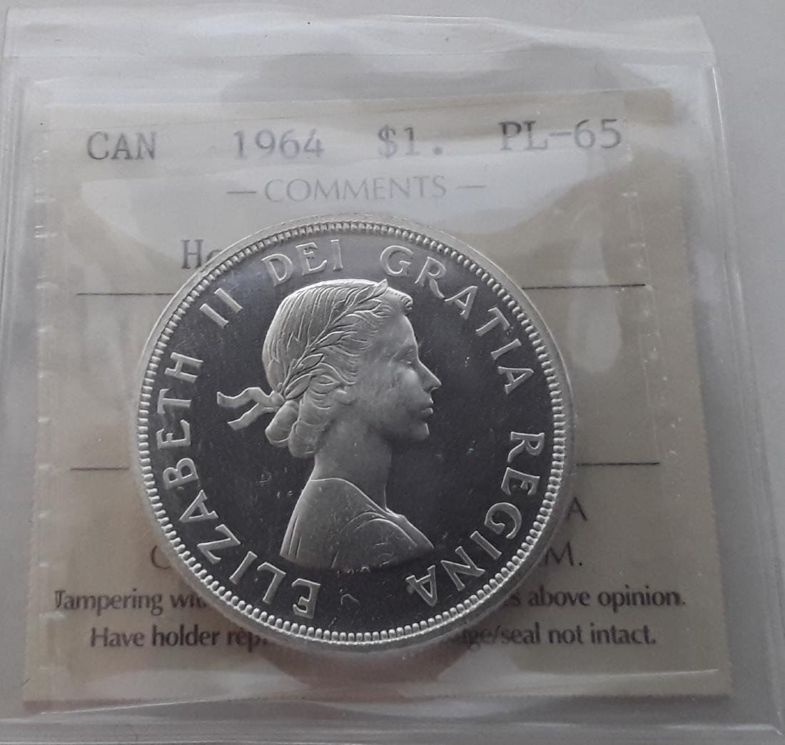 Canadian Prooflike Dollar Collection - 6