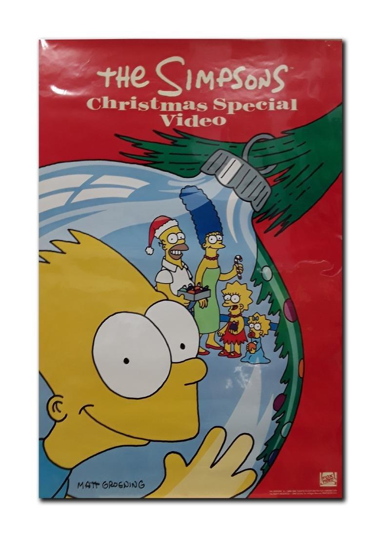 """Original """"The Simpsons Movie"""" Movie Poster"""