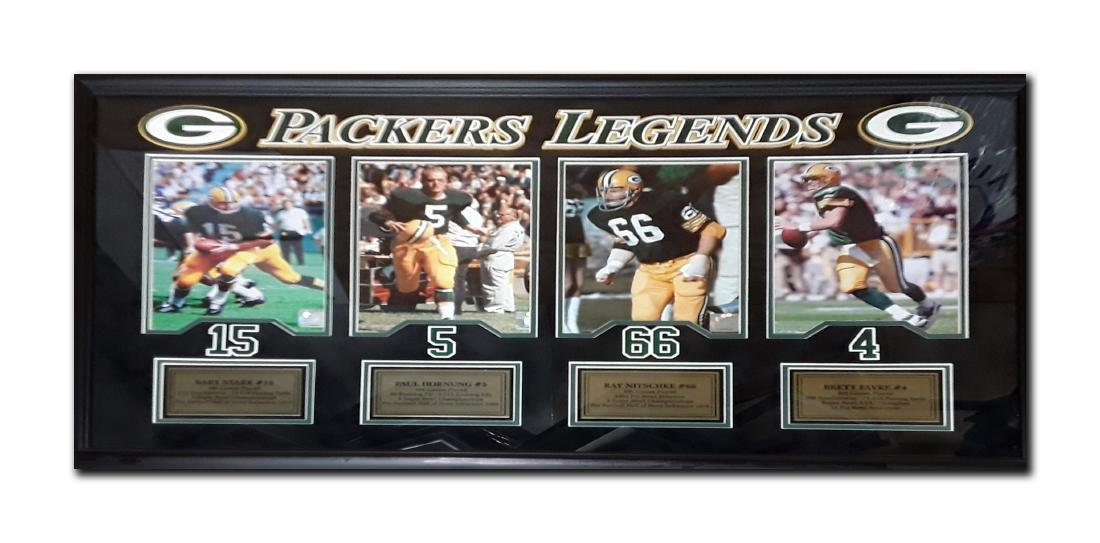 Green Bay Packers 'Legends' Framed Photograph