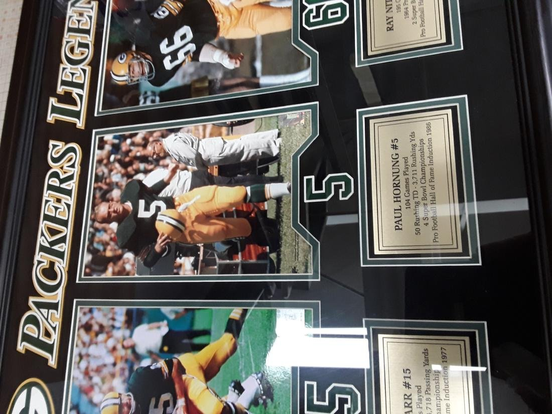 Green Bay Packers 'Legends' Framed Photograph - 2