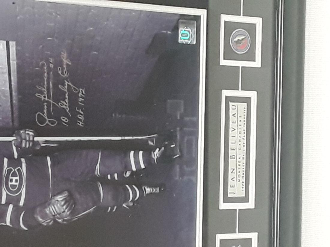 1972 hockey hall of fame inductee, Jean Beliveau, - 2