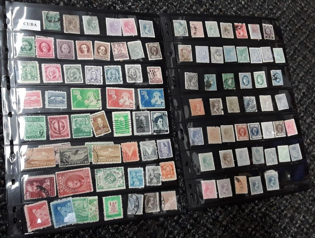 Cuba Stamp Collection - 2