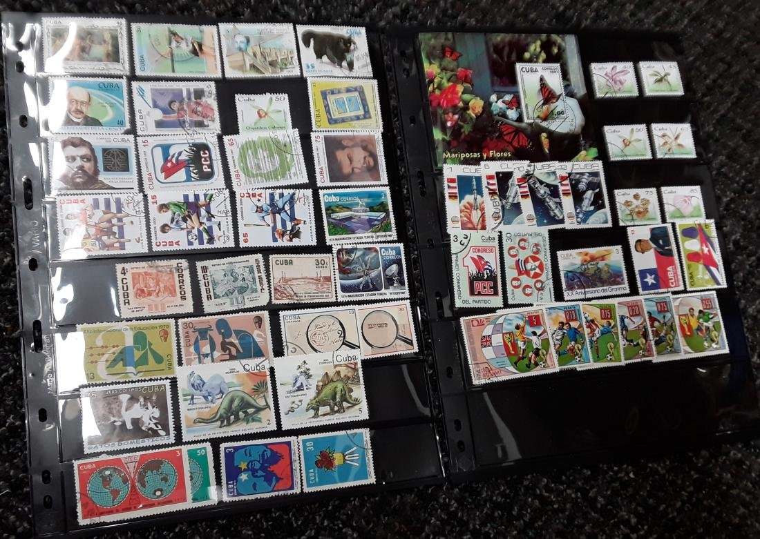 Cuba Stamp Collection - 6