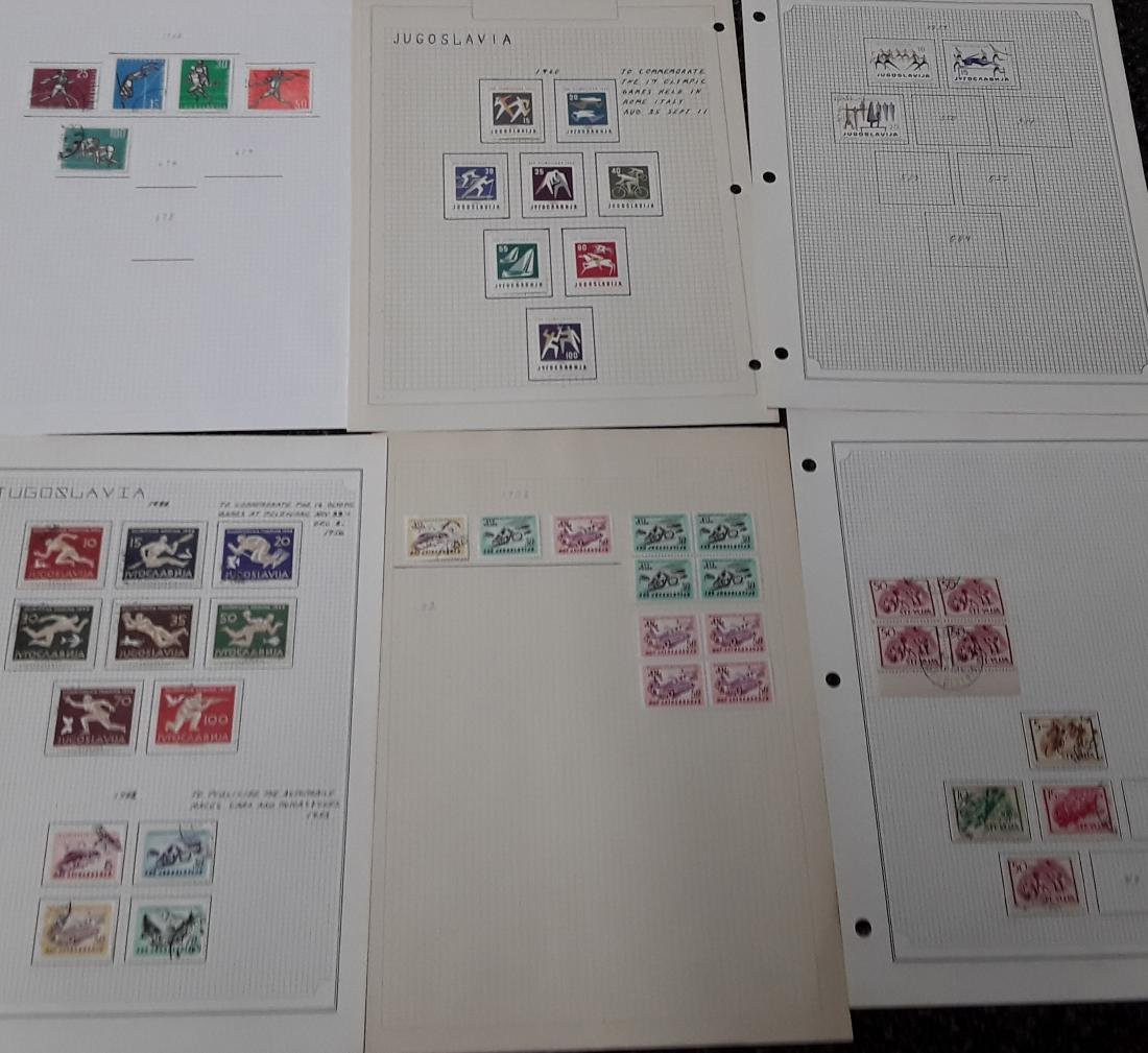 Yugoslavia Stamp Collection