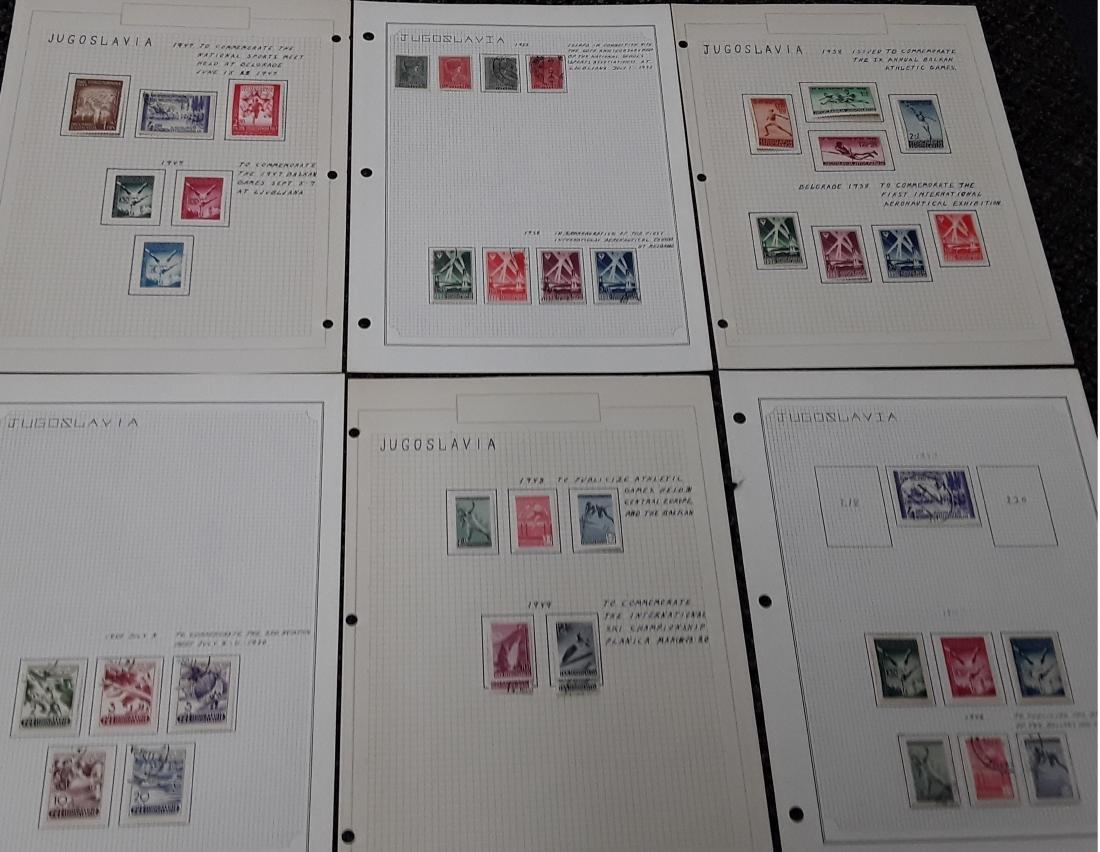 Yugoslavia Stamp Collection - 2