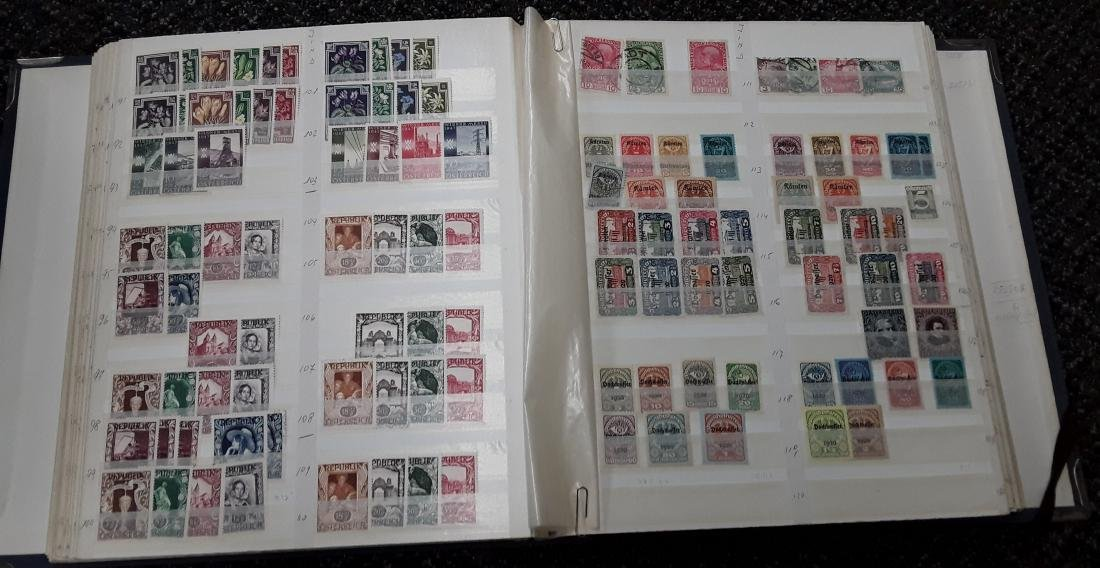 Austria Stamp Collection - 6