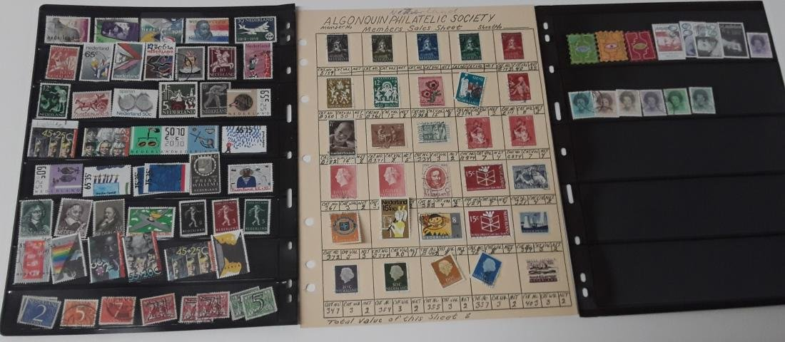 Netherlands Stamp Collection - 7