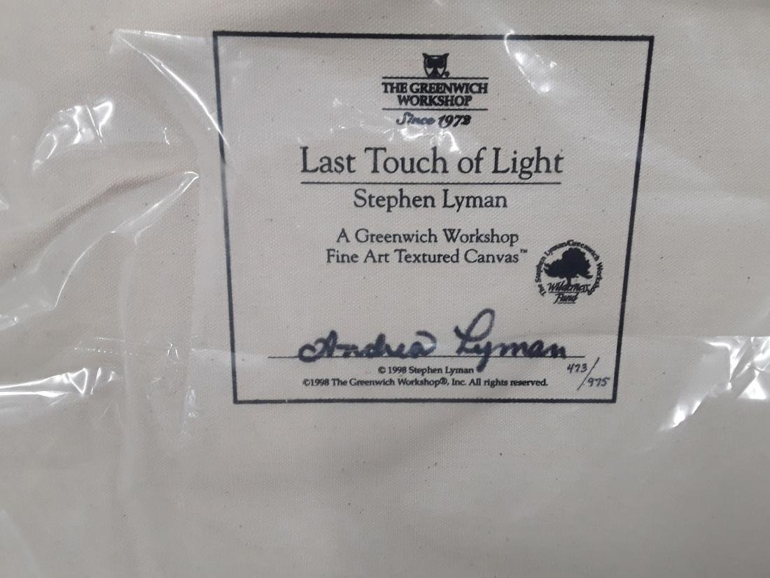 """Stephen Lyman's """"Last Touch Of Light"""" Limited Edition - 3"""