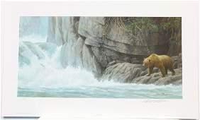 "Robert Bateman's ""Fishing Hole"" Limited Edition Print"