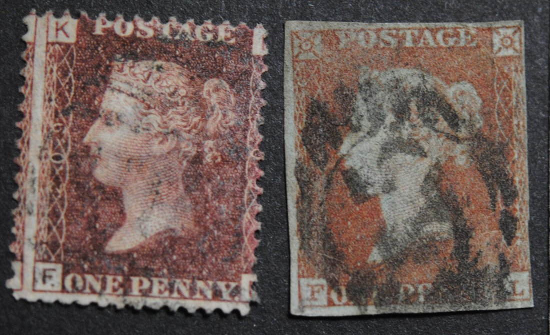 Great Britain 2 Rare Victorian Stamps