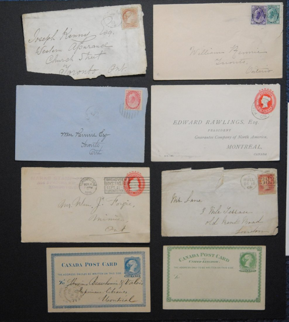 Canada Letters and Postcards Collection