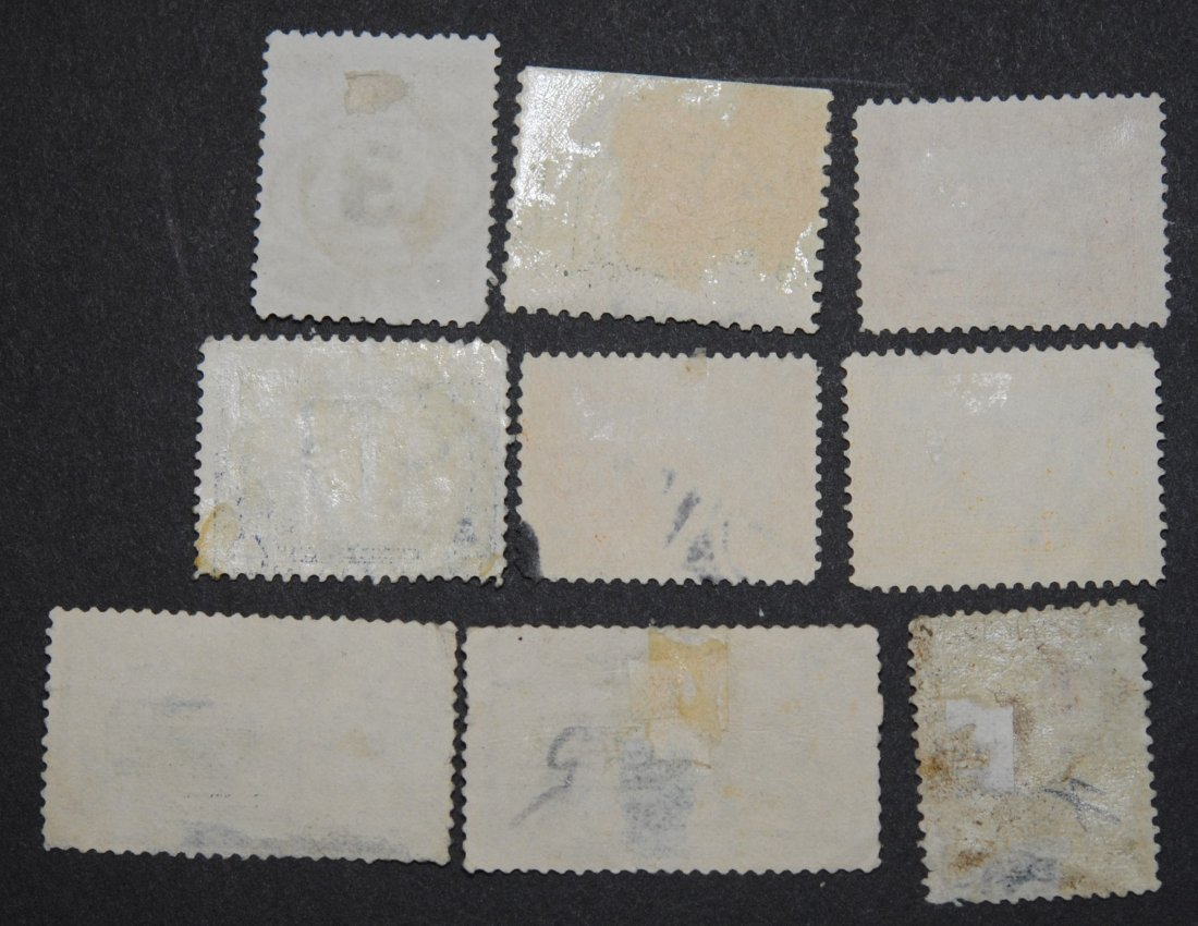 USA Stamp Collection of 9 Early US Stamps - 2