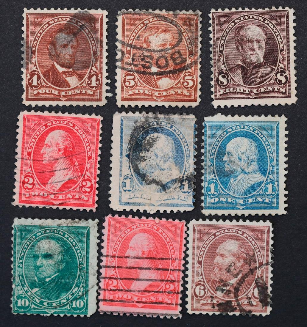USA 1894 Bureau Issues Stamp Collection