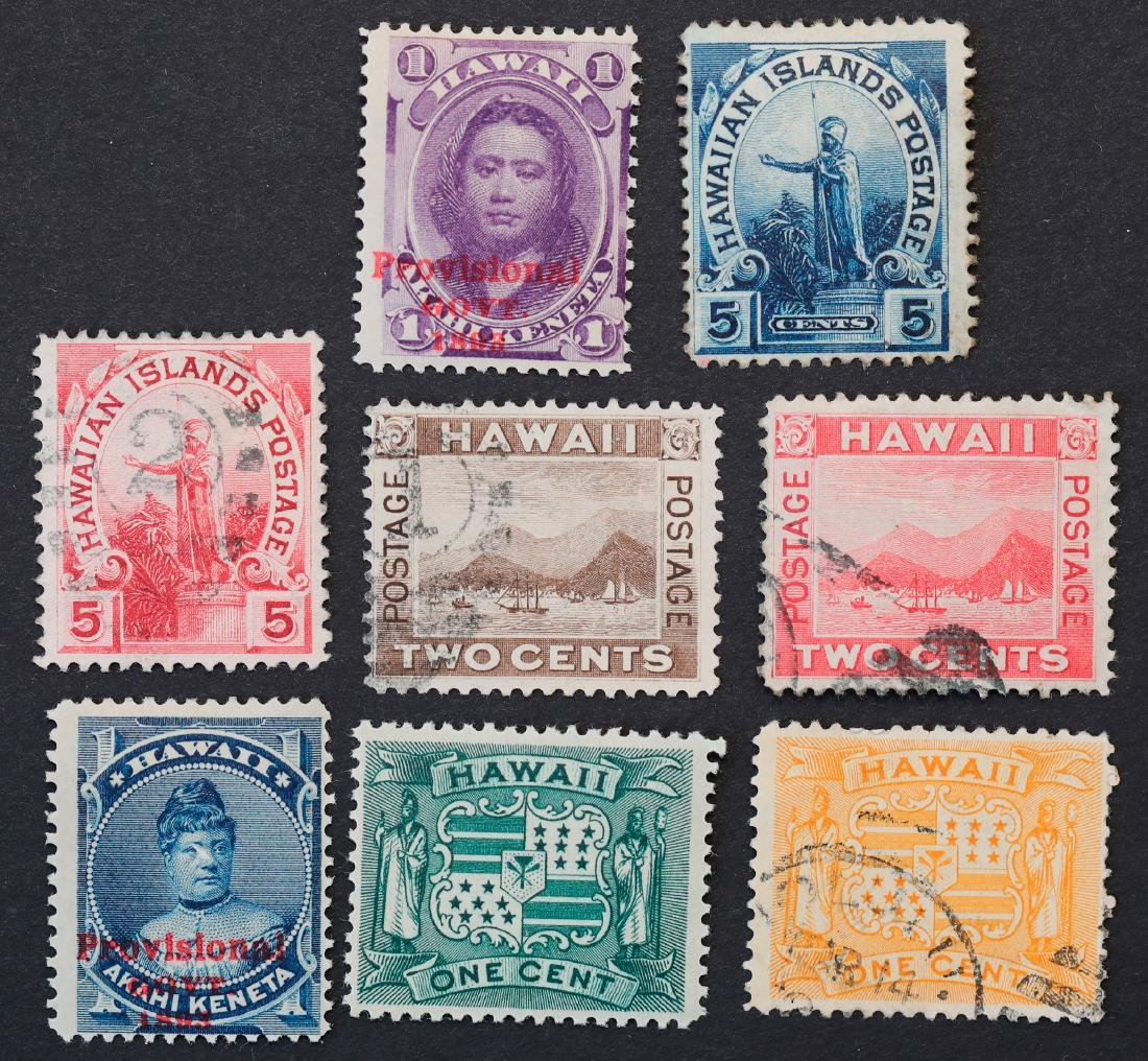 Hawaii Stamp Collection