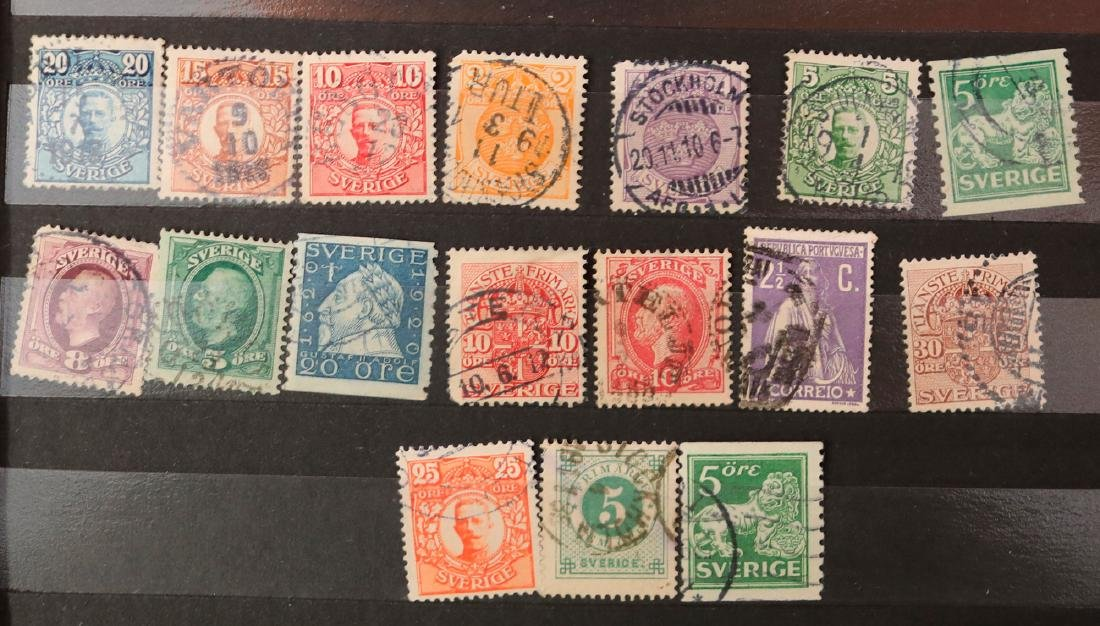 Sweden Stamp Collection