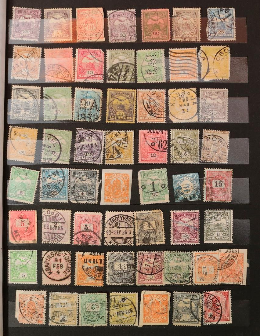 Hungary Stamp Collection