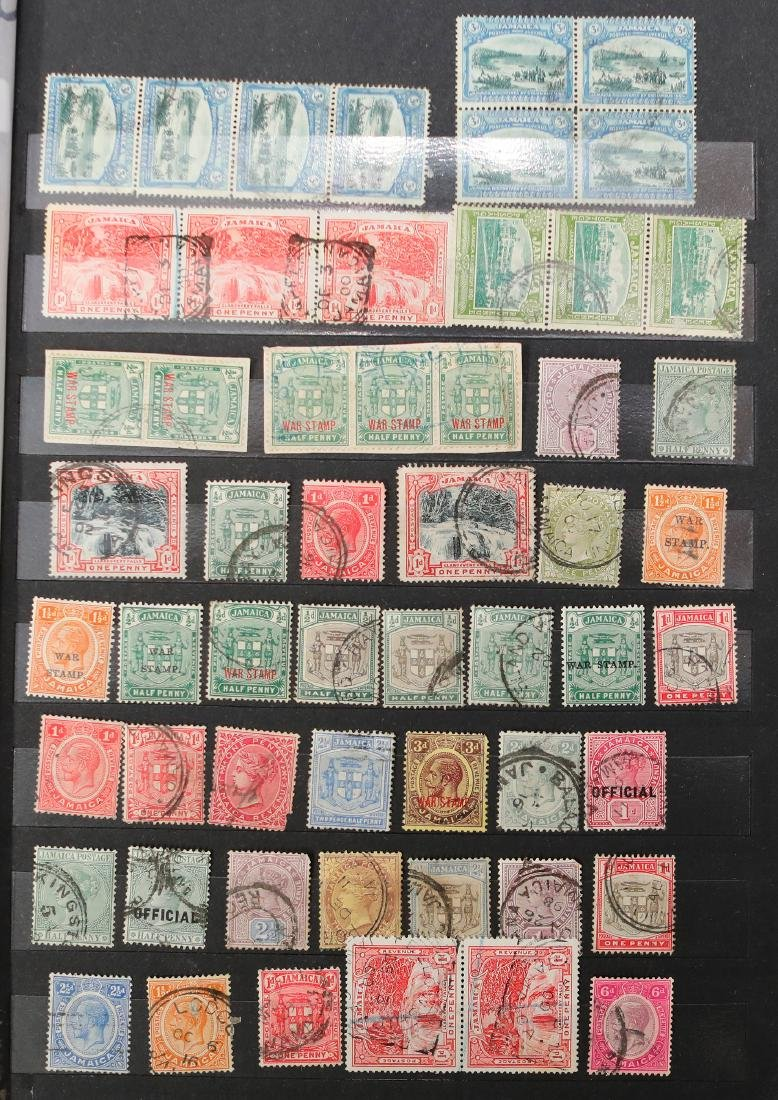 Jamaica Stamp Collection