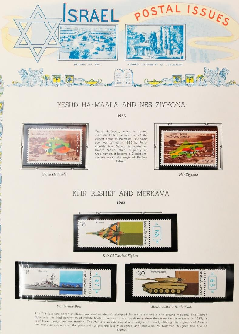 Israel Stamp Collection 1983-91