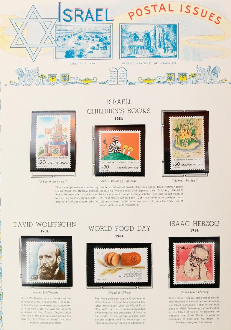 Israel Stamp Collection 1983-91 - 6