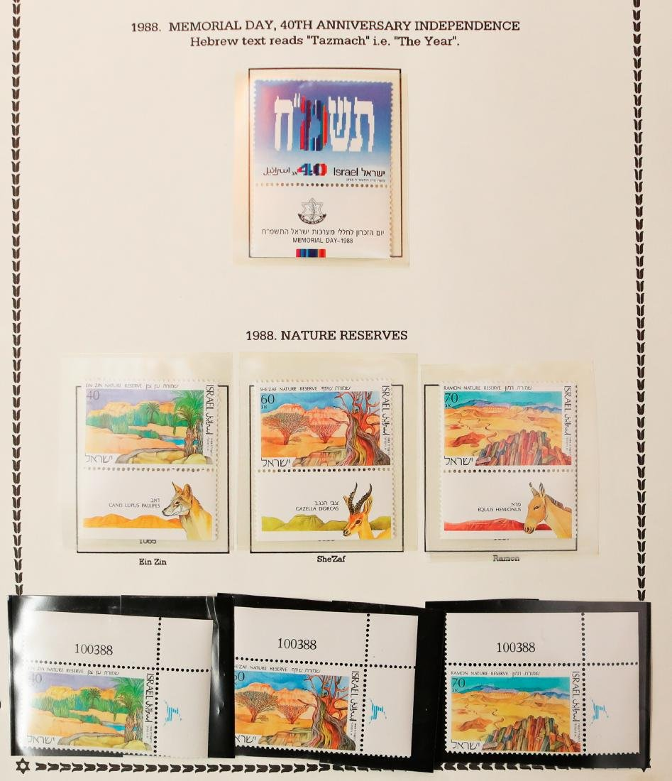 Israel Stamp Collection 1987-91 - 4