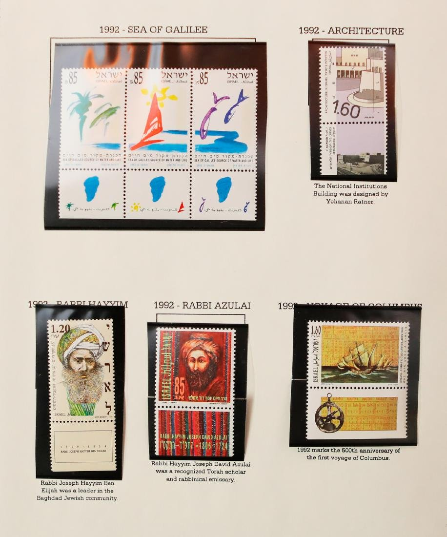 Israel Stamp Collection 1992-98 - 2