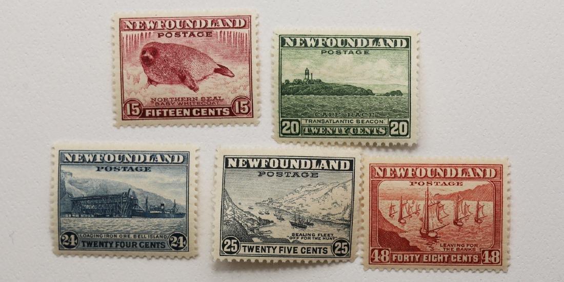 Canada Newfoundland 15c S/C #195, 20c S/C #196, 24c S/C
