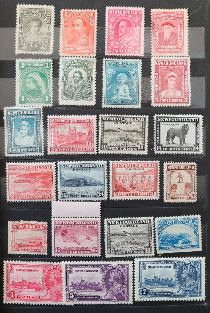 Canada Newfound 47 Stamp Collection