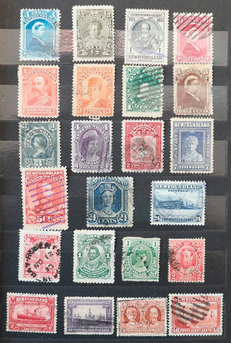 Canada Newfound 47 Stamp Collection - 2