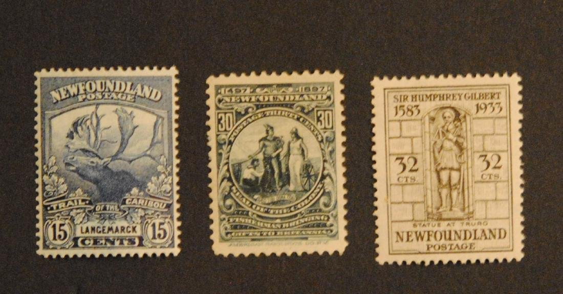 Canada Newfoundland 15c #124, 32c S/C #225, 30c S/C #72