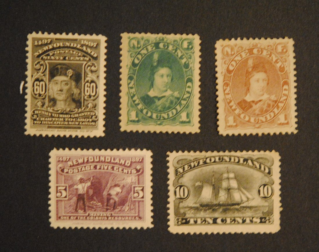 Canada Newfoundland Stamp Collection