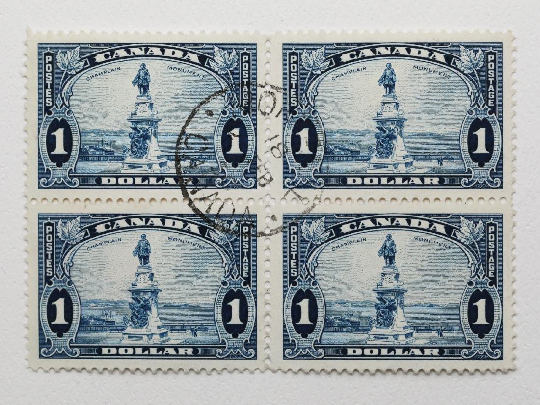 Canada- $1 Block of 4 S/C #216