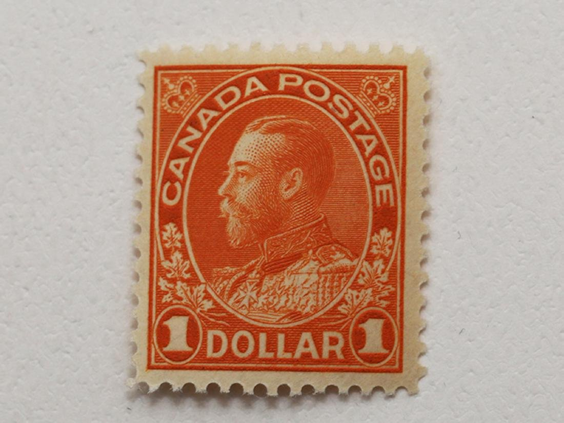Canada $1 S/C #122 VF MNH