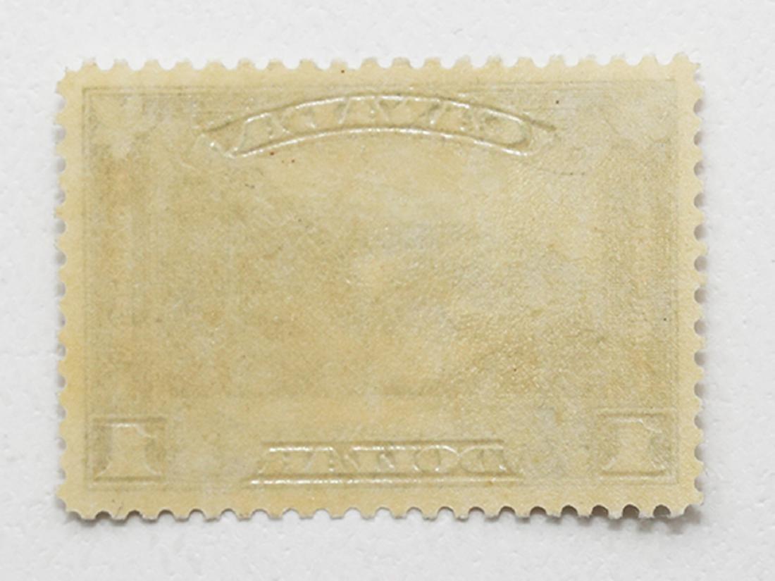 Canada $1 S/C #176 VF MLH OG - 2