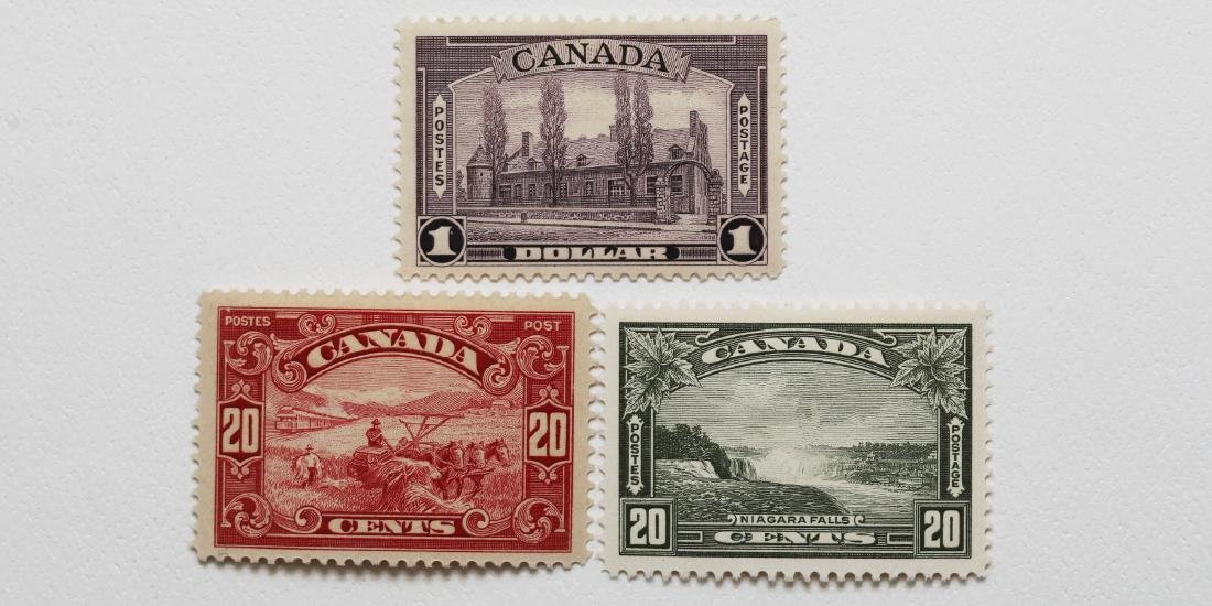 Canada- $1 S/C #245 VF MNH, 20c S/C #175 VF MNH, 20c