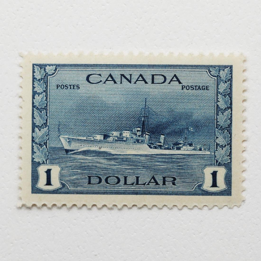 Canada- $1 S/C #262 MH VF