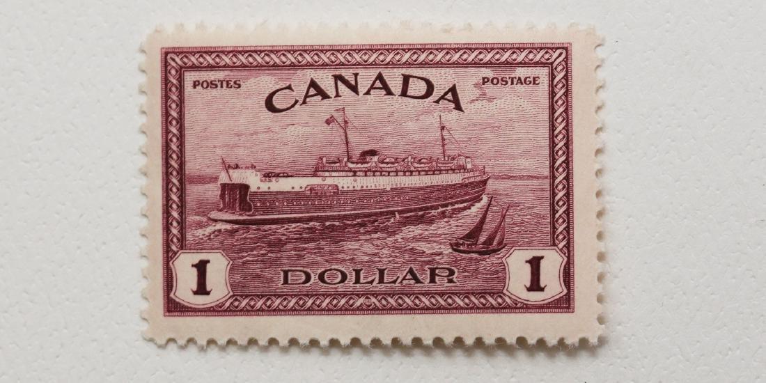 Canada- $1 S/C #273 MNH VF