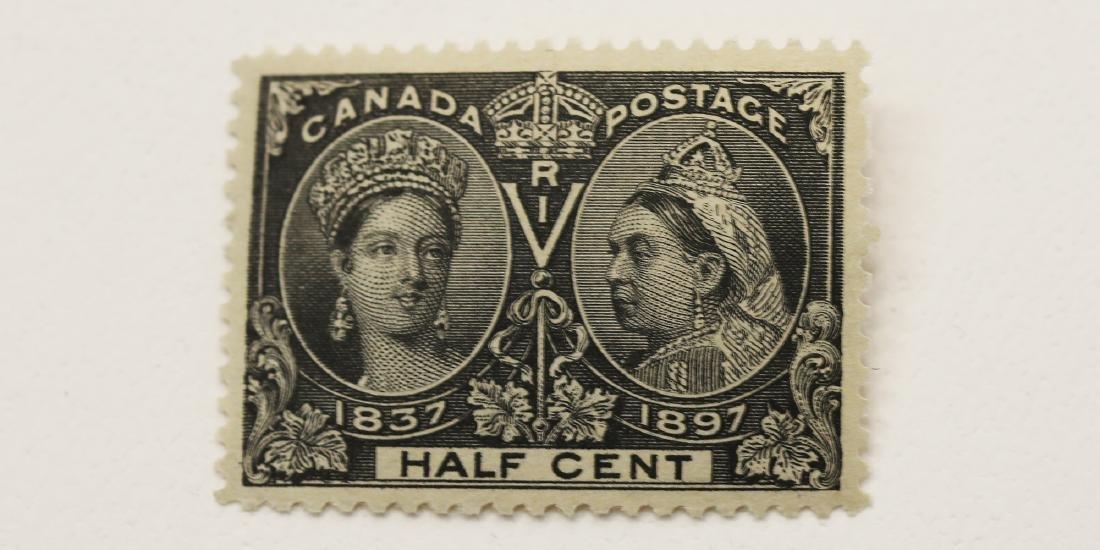 Canada- 1/2c Jubilee MH VF OG