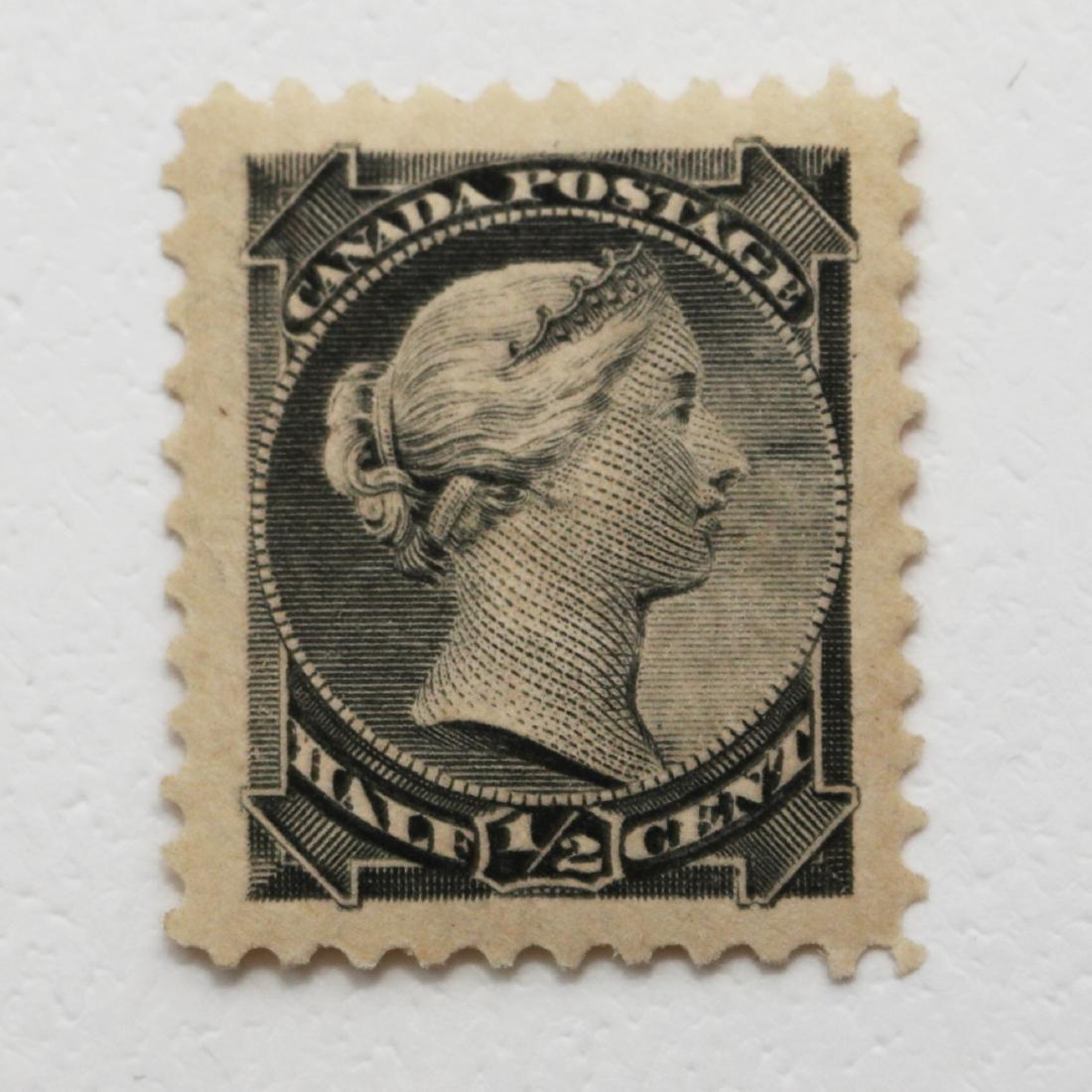 Canada 1/2c S/C #34 VF MH