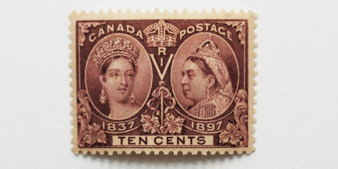 Canada 10c Jubilee S/C #57 F MLH OG