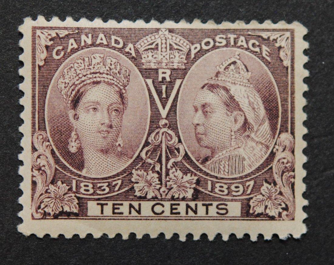 Canada 10c Jubilee S/C #57 MNH F/VF