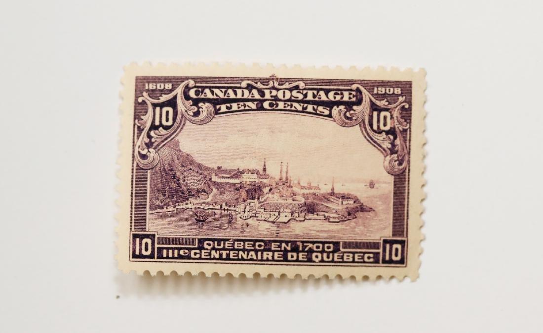 Canada 10c S/C #101 MH VF