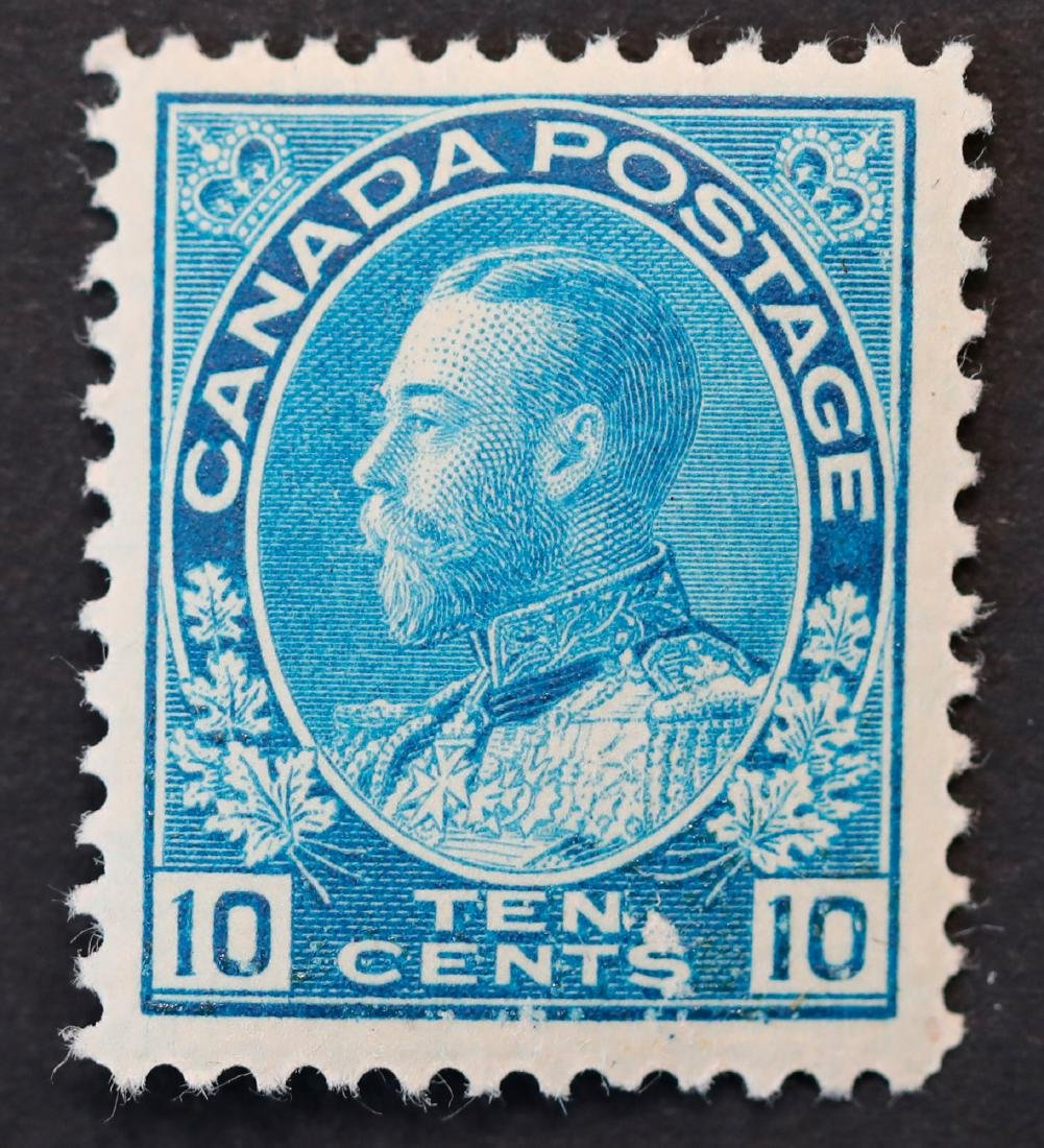 Canada 10c S/C #117 MNH VF OG