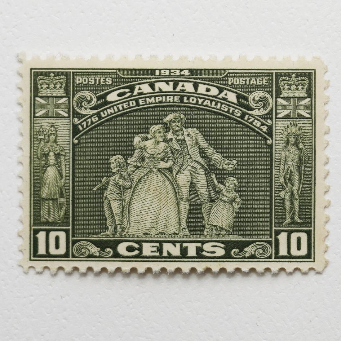 Canada- 10c S/C #209 MNH VF Gum Bend
