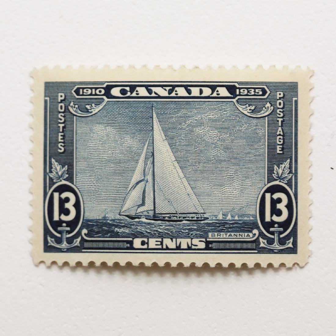 Canada- 13c S/C #216 MH VF