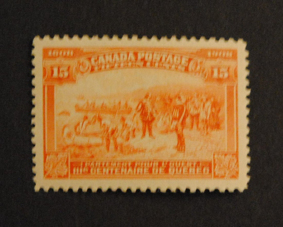 Canada 15c Orange S/C #102 VF MNH