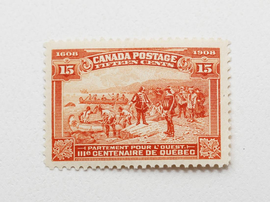 Canada 15c S/C #102 VF MLH