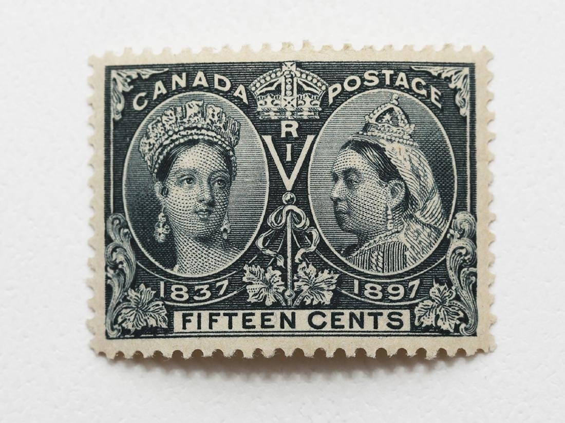 Canada 15c Jubilee S/C #58 MH VF