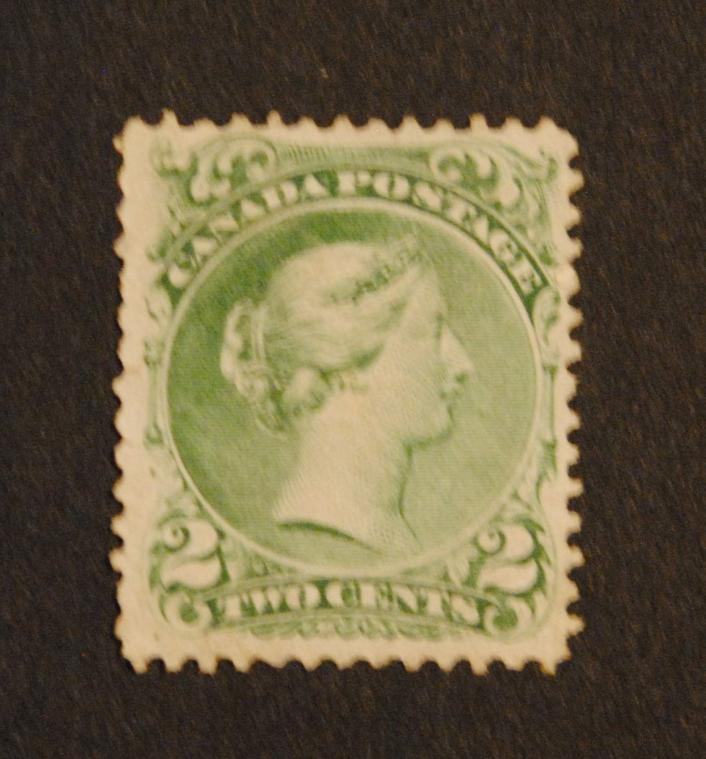 "Canada 1851 2c ""Large Queen"" S/C #24 VF MLH OG"